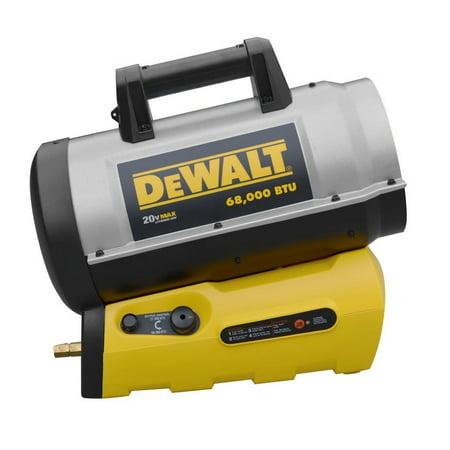 DeWalt 70,000 BTU Industrial Jobsite Portable Cordless Forced Heater