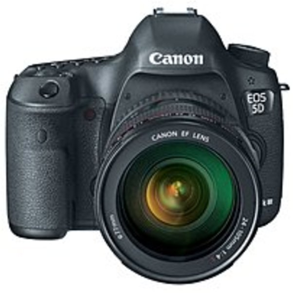 Canon EOS 5D Mark III 22.3 MP DSLR Camera + Canon EF 24-105mm f 4L IS USM Lens by Canon