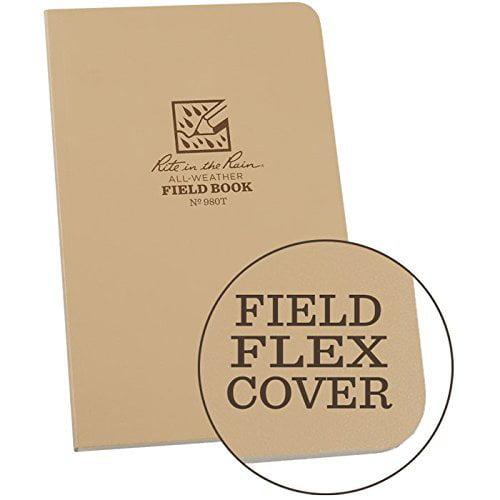 Rite in the Rain All Weather Field Book No.980T, 4-5/8 x 7-1/4In.