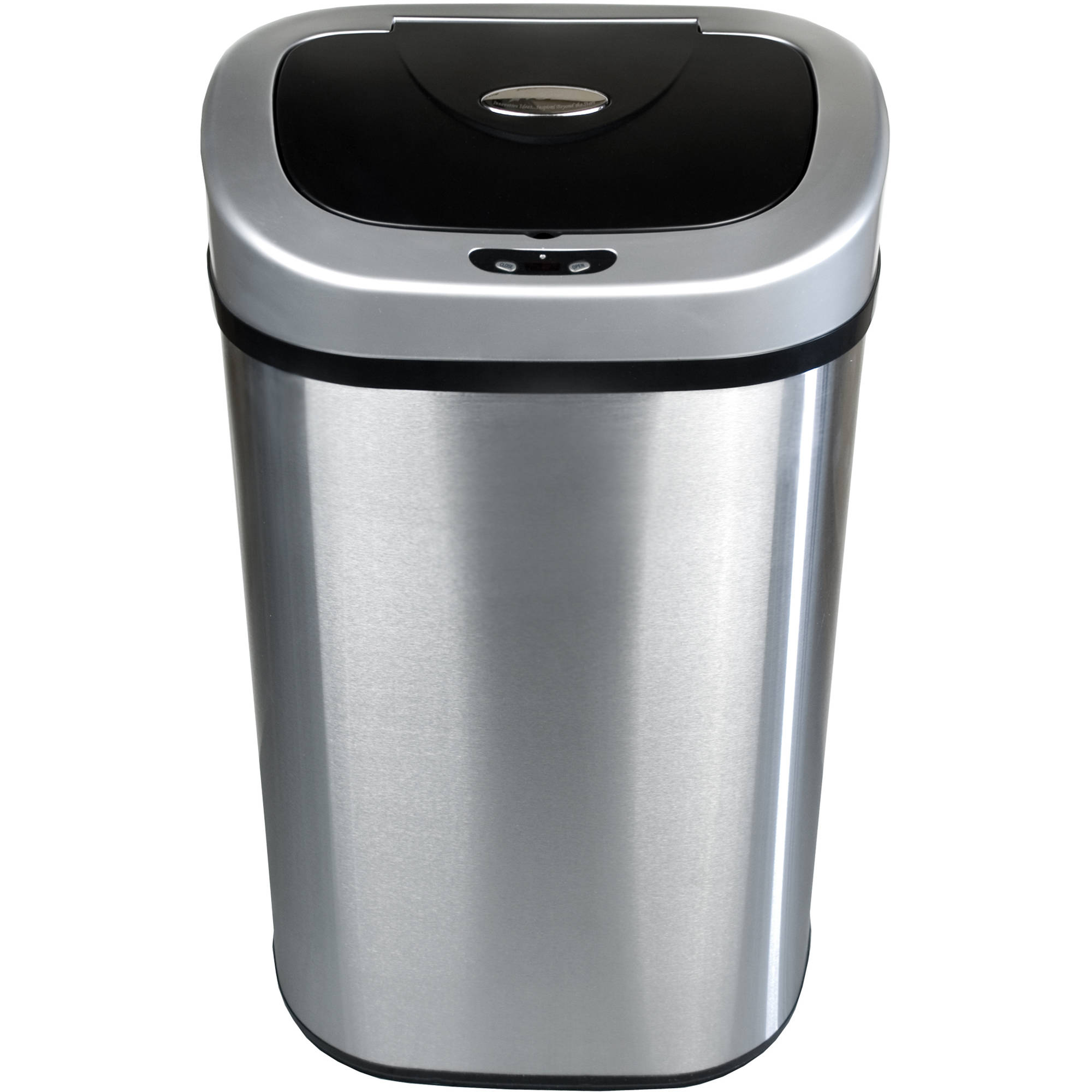 Nine Stars 21.1-Gallon 80-Liter Stainless Steel Sensor Operated Trash Can by Nine Stars Group USA Inc