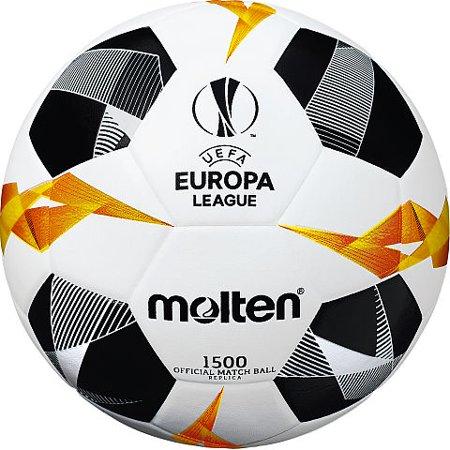 Molten UEFA Europa League Soccer Ball Official Series 1500 Size 5 Grey Premier League Soccer Ball