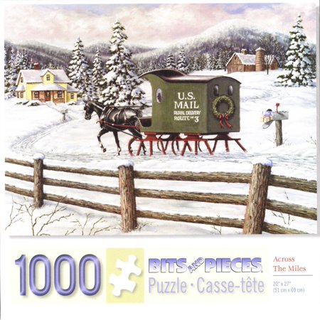 Across the Miles 1000 Piece Puzzle