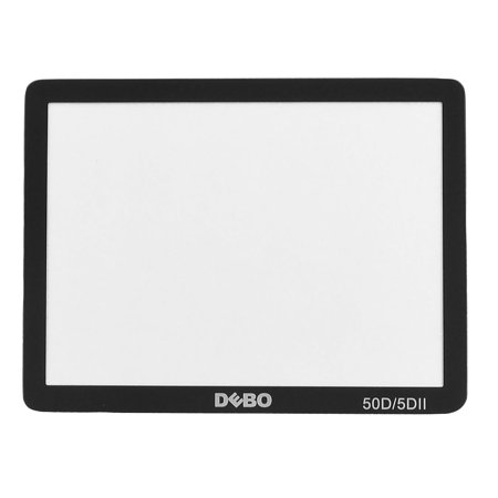 Digital Camera Parts Glass LCD Screen Protector Guard for  50D 5DII