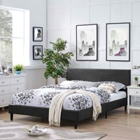 Modway Anya Full Leatherette Platform Bed, Multiple Colors