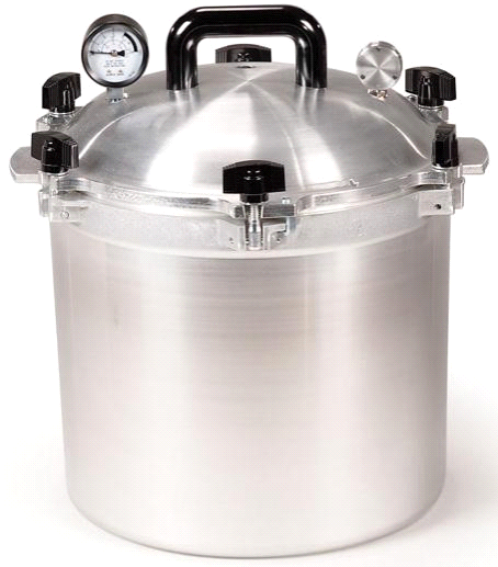 All American 21.5 Quart Pressure Cooker by