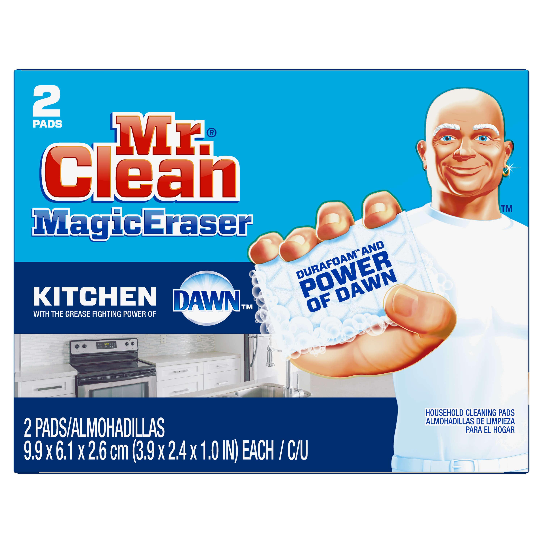 Mr. Clean Magic Eraser Bath Scrubber, 2 count