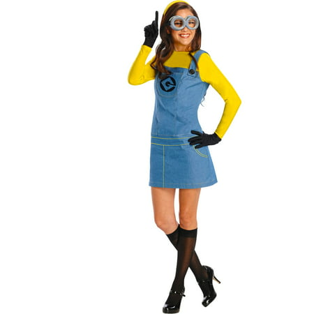 Despicable Me Plus Size Womens Minion Co (Despicable Me Lucy Halloween Costume)