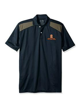 89df7006 Product Image NCAA Syracuse Orange Men's CTR Logo Polo Shirt, Small,  Navy/Charcoal
