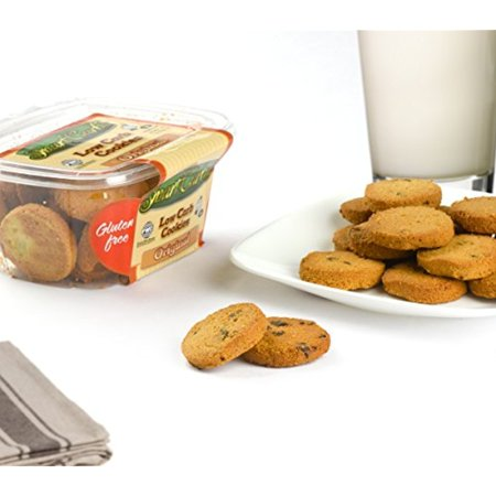 Smart Carbs   Low Carb Cookies   Guilt Free Healthy Snack Option   No Wheat  Gluten  And Sugar   Diabetic Friendly   Original   4 5 Oz    2 Pack