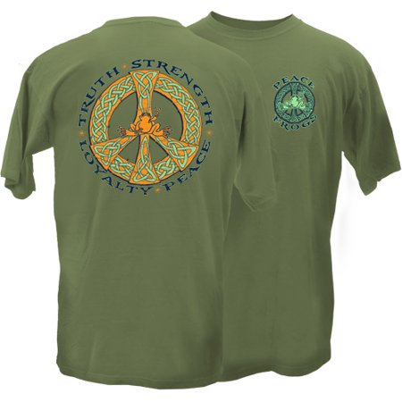 - Peace Frogs Adult Celtic Truth Short Sleeve T-Shirt