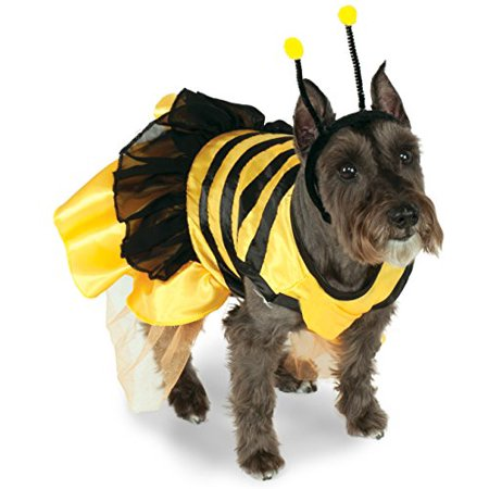 Rubies RU-887809MD Pet Costume Baby Bumblebee Md - Baby And Dog Coordinating Halloween Costumes