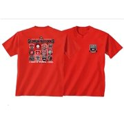 New World Graphics UGA 2015 Football Schedule Patch SS T-shirt