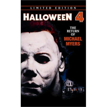 Halloween 4-Return on Michael (DVD) - Halloween Michael Myers Movies