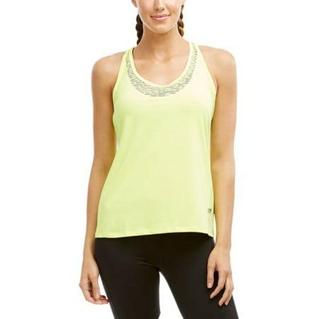 marika zesty inset singlet racerback tank women's workout shirt