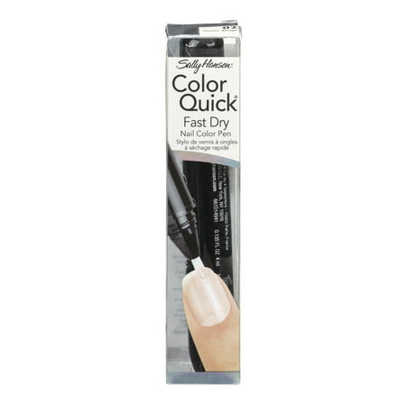 Coty Sally Hansen Color Quick Fast Dry Nail Color Pen, 0.135 oz Dry Nail Colour