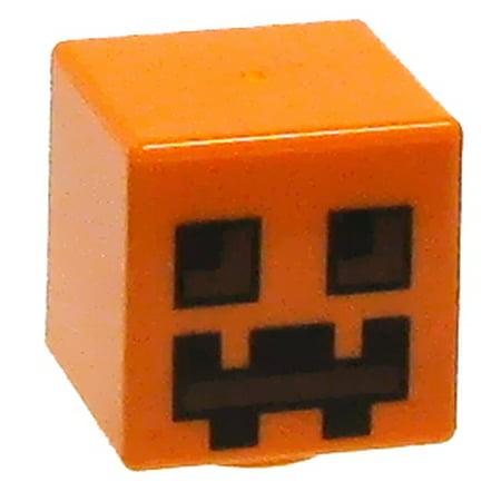 LEGO Minecraft Pumpkin Accessory [Loose]](Minecraft Pumpkin Carving)