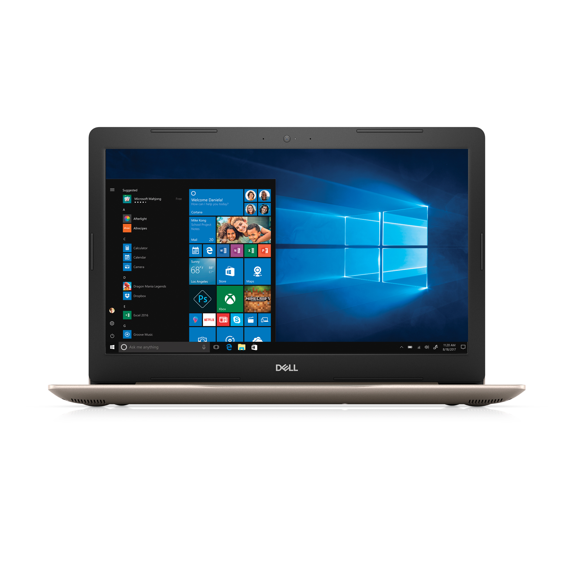 """Dell Inspiron 15 5000 (5575) Laptop, 15.6"""", AMD Ryzen™ 3 2200U with Radeon Vega3 Graphics, Integrated Graphics with AMD APU, 1TB HDD, 8GB RAM, i5575-A772GLD-PUS"""