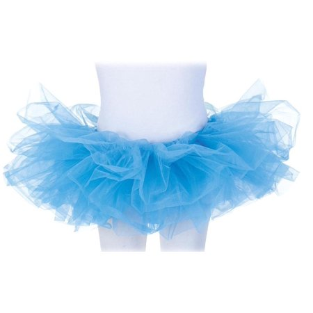 Tutu Costume Accessory Child: Neon Blue One Size Fits Most (Neon Tutus)