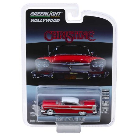 """Greenlight Hollywood Series: 1958 Plymouth Fury """"Christine"""" 1/64 Scale"""