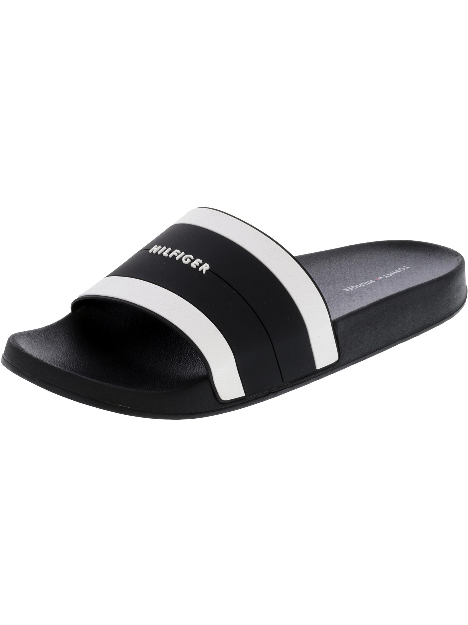 40ee79d9fad787 Tommy Hilfiger Women s Dria Black Sandal - 10M