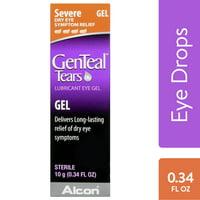 GENTEAL Tears lubricant Eye Gel for Severe Dry Eye Symptom Relief, .34 oz