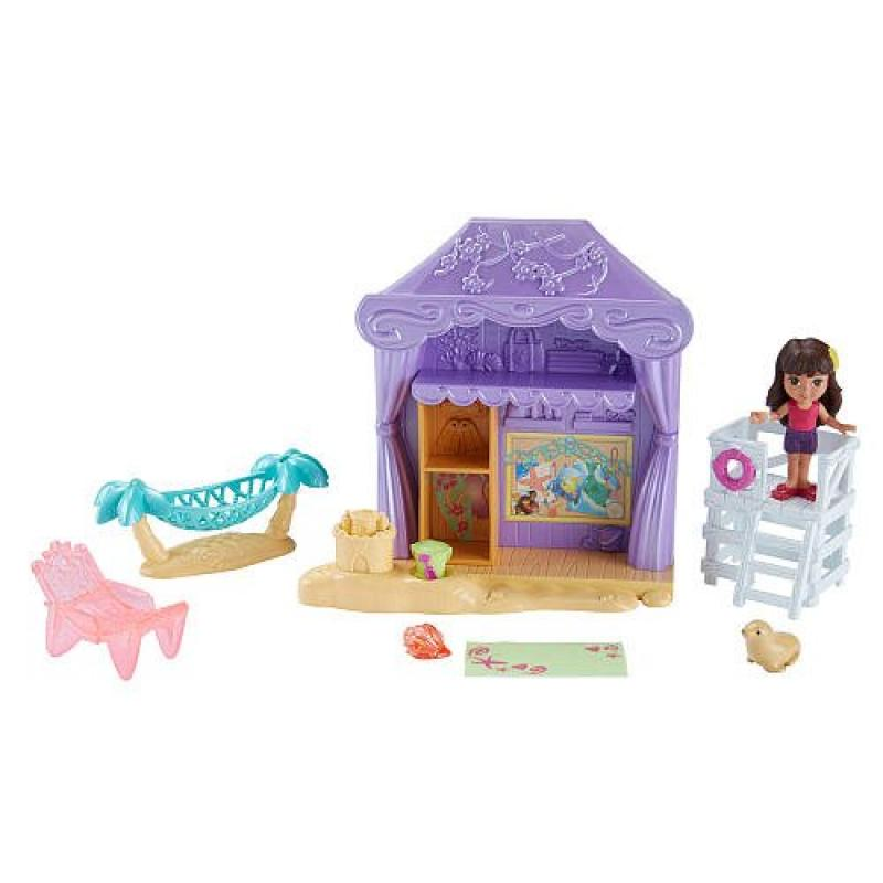 Nickelodeon Dora Friends Cabana Playset by Fisher Price by