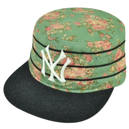 cb8eed9d5a6 MLB American Needle New York Yankees Off The Vine Cadet Strapback Hat Cap  Floral