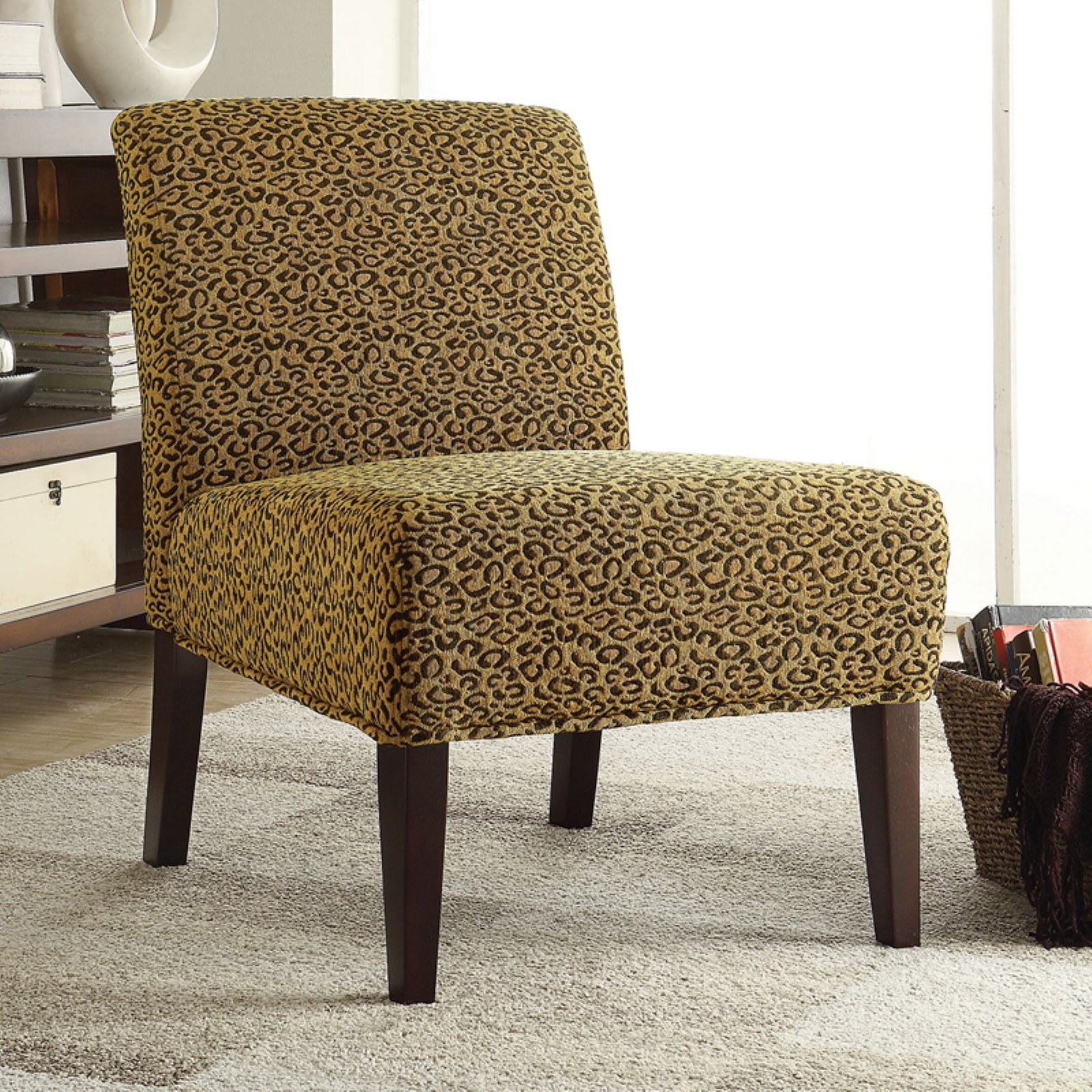 Coaster Furniture Cerritos Armless Accent Chair by Coaster