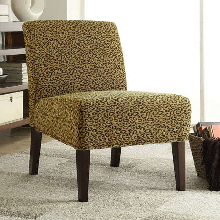 Amazing Coaster Company Leopard Print Accent Chair Beatyapartments Chair Design Images Beatyapartmentscom