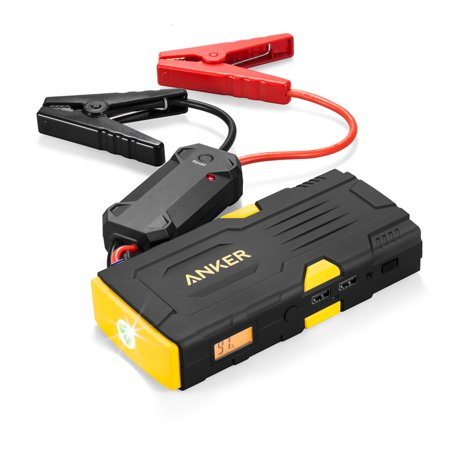 Anker PowerCore Jump Starter 600 (High 600A Peak Current Car Battery Jump  Starter and 15000mAh Portable Charger with Built-in Flashlight and Safety