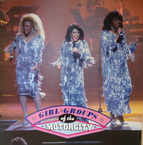 Girl Groups Of The Motorcity (Vinyl)