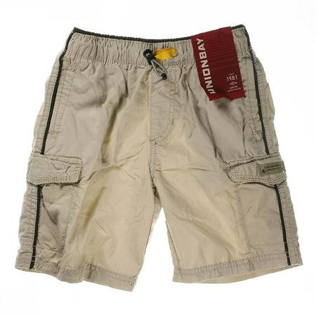 6daf33334b Unionbay - Unionbay® Boys' 100% Cotton Cargo Short With Pull On, Elastic  Waist - Walmart.com
