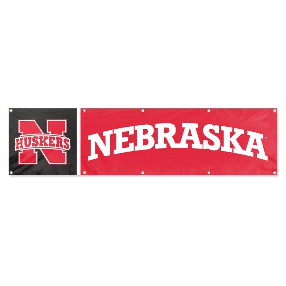 Party Animal Nebraska Cornhuskers 8'x2' NCAA College Banner