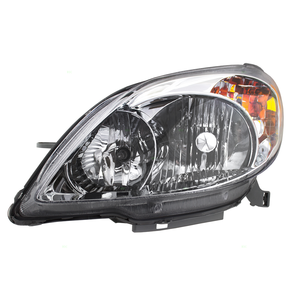 Drivers Halogen Combination Headlight Headlamp Replacement For Toyota Matrix 81150 02220