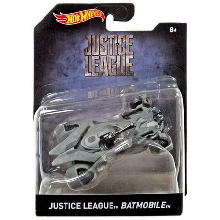 Hot Wheels Justice League Batmobile Die-Cast Car (Justice League Dice)
