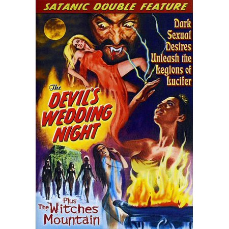 The Devil's Wedding Night / The Witches' Mountain (DVD)](Wedding Halloween Horror Nights)
