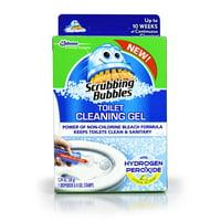 Scrubbing Bubbles Toilet Cleaning Gel Fresh, Hydrogen Peroxide Citrus, 1ct, 1.34oz
