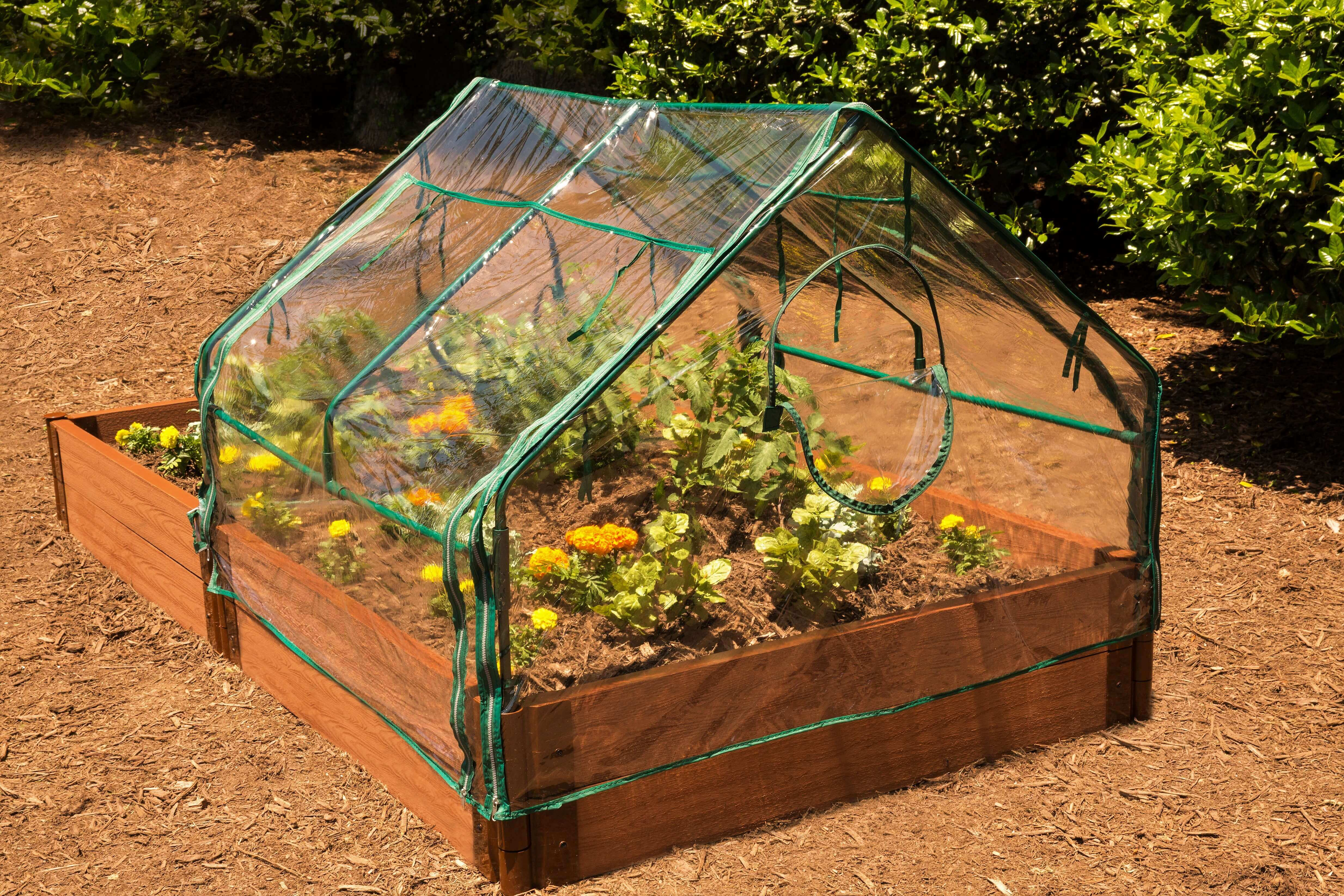 Frame It All Extendable Cold Frame Greenhouse - Walmart.com