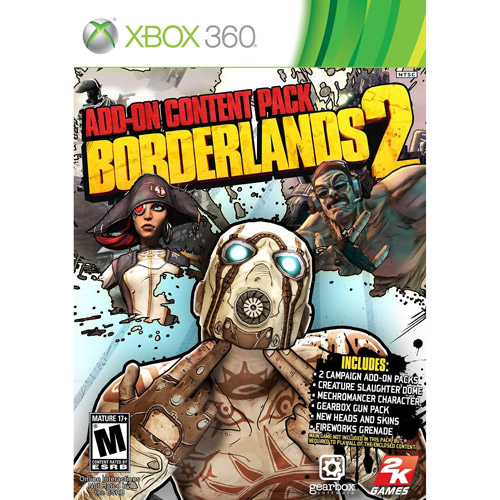Borderlands 2: Add-On Content Pack (Xbox 360)