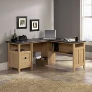 Sauder August Hill L-Desk, Dover Oak