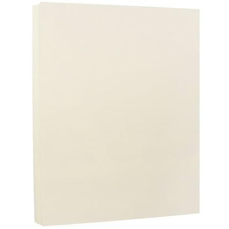 Ivory Cardstock - JAM Paper Strathmore Cardstock, 8.5