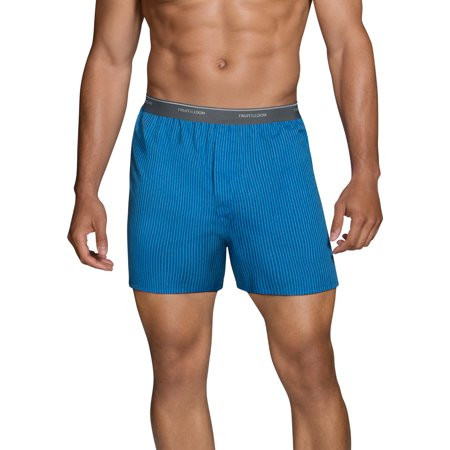 Men's Dual Defense Exposed Waistband Woven Boxers, 5 - The Italian Stallion Boxer