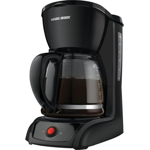 Black & Decker 12-Cup Switch Coffee Maker - 12 Cup(s) - Black - Glass