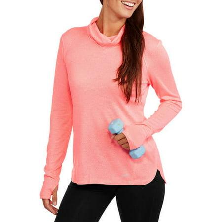 5c6cce1b546291 Avia - Women's Perfomance Active Mesh Cowlneck Pullover - Walmart.com