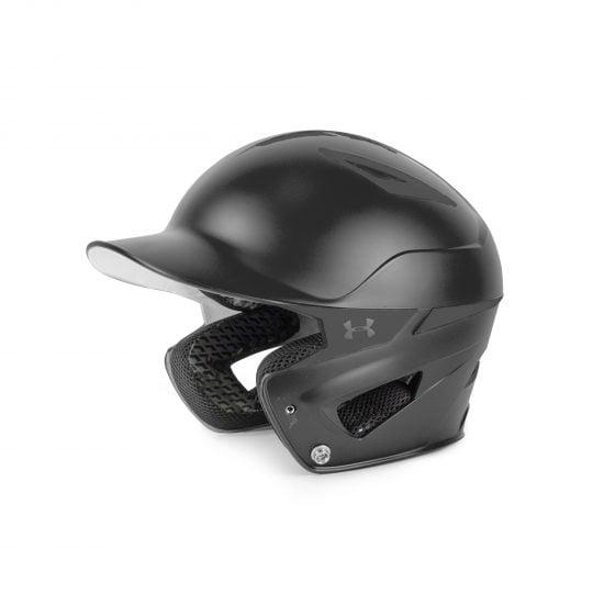 edfbd578d20 Under Armour Youth Solid Converge Batting Helmet UABH2-110 Black -  Walmart.com