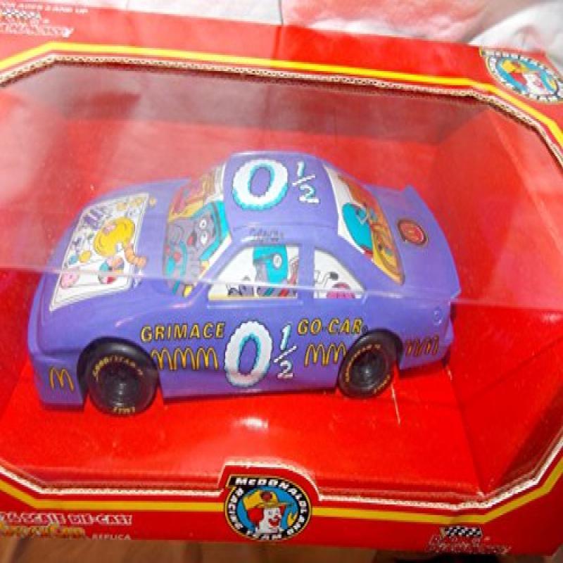 1994 McDonaldland Racing Team Grimace Go-Car 1:24 Scale Die Cast Stock Car by