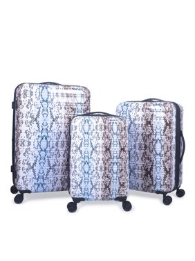 iFLY Hardside Fibertech Printed Luggage, Carry-On Luggage and Checked Luggage