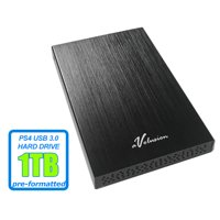 Avolusion HD250U3 1TB USB 3.0 Portable External Gaming PS4 Hard Drive (PS4 Pre-Formatted) - Retail w/2 Year Warranty