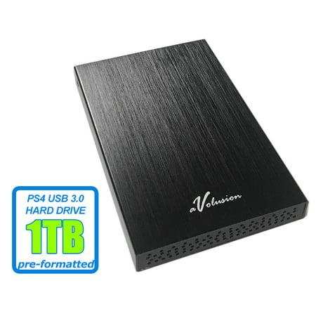 Avolusion HD250U3 1TB USB 3.0 Portable External Gaming PS4 ...