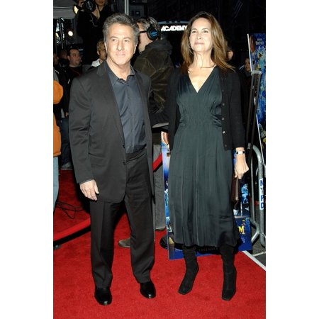 Dustin Hoffman And Wife Lisa At Arrivals For Premiere Of Mr MagoriumS Wonder Emporium Dga DirectorS Guild Of America Theatre New York Ny November 11 2007 Photo By George TaylorEverett Collection Celeb - Halloween Emporium
